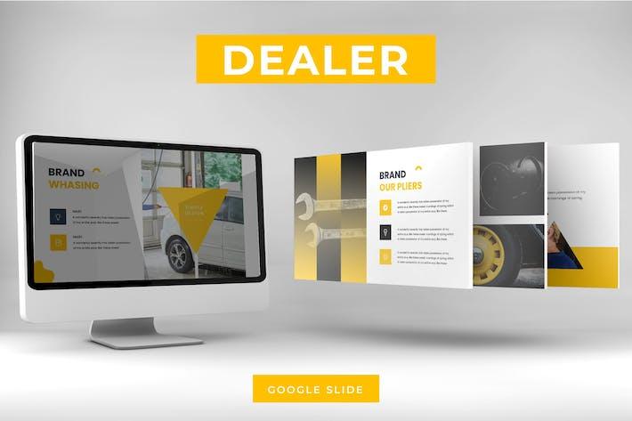 Thumbnail for Dealer - Google Slides Template