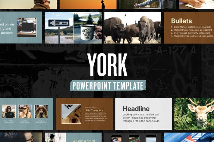 Thumbnail for York — Powerpoint Presentation Template