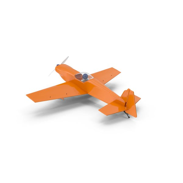 Thumbnail for Orange Toy Sport Plane