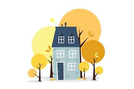 Ma Sweet Home - Ilustración AS