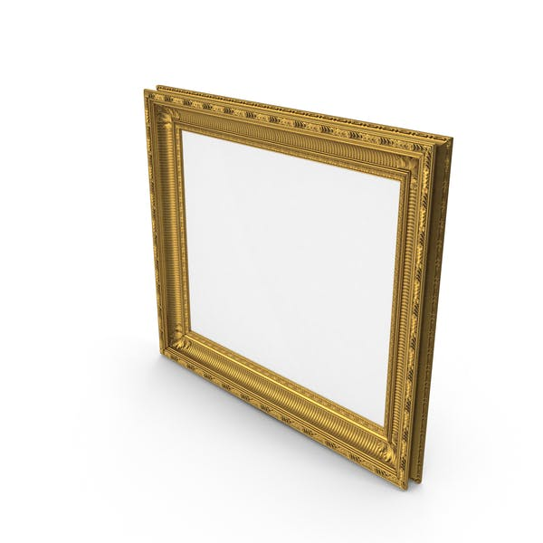 Thumbnail for Baroque Picture Frame