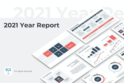 2021 Year Report Keynote