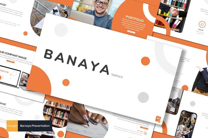 Thumbnail for Banaya - Business Google Slides Template