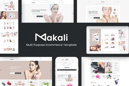 Makali - Cosmetics & Beauty OpenCart Theme
