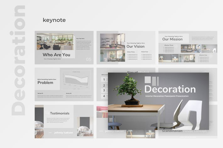 Thumbnail for Decoration - Property Keynote Presentation
