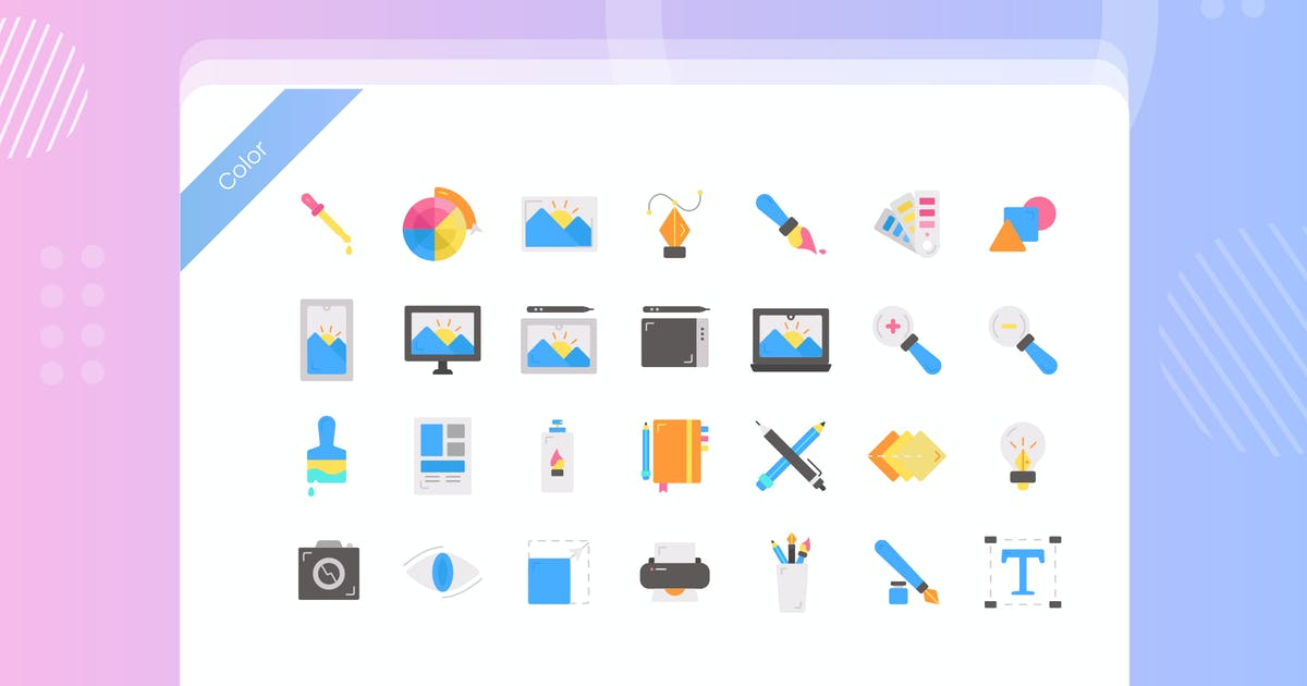 Download Graphic Design Icon Pack by vectorclans