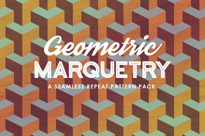 Thumbnail for Geometric Marquetry Patterns