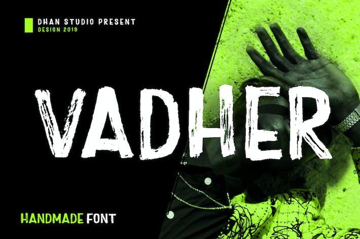 Thumbnail for Vadher Font