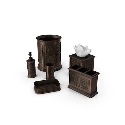 Kit de decoración de baño Clásica