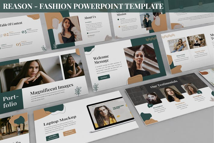 Thumbnail for Reason - Fashion Powerpoint Template