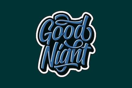 Good Night Lettering