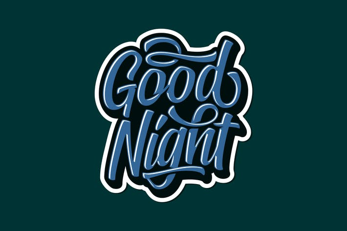 Good Night Lettering