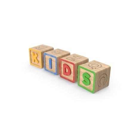 Alphabet Blocks Niños