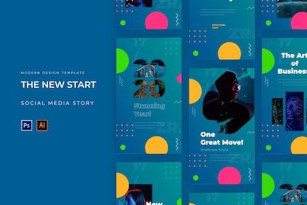 The New Start Socmed Story