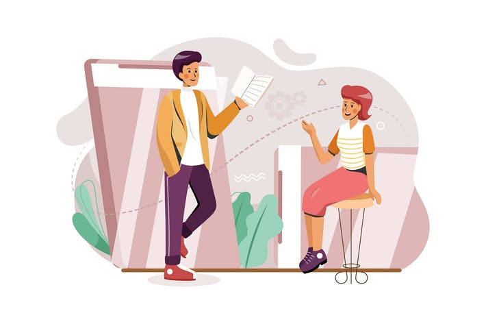 Produktteam mit Online-Geschäftstreffen