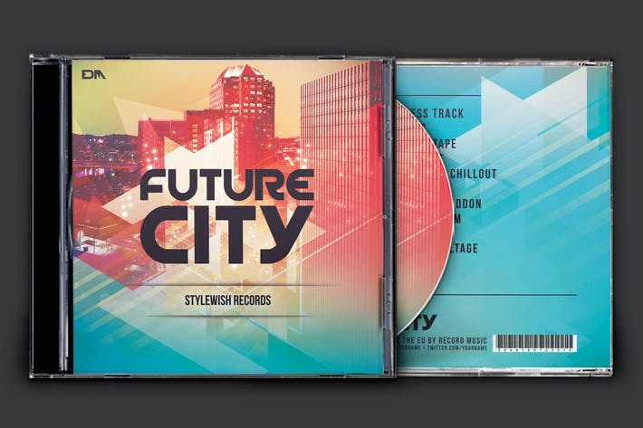 Cover Image For Future City CD Cover Artwork