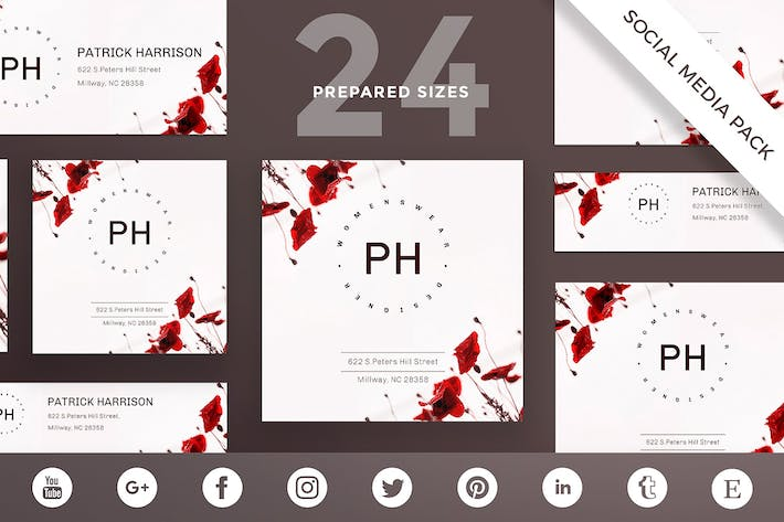 Thumbnail for Fashion Style Social Media Pack Template