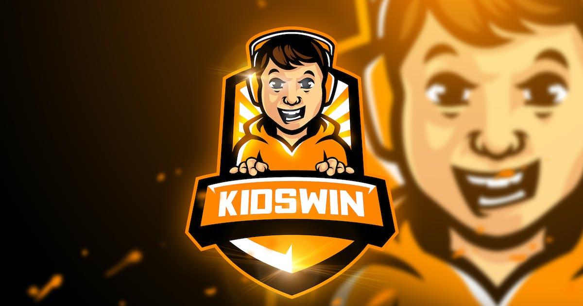 Download Kidswin - Mascot & Esport Logo by aqrstudio