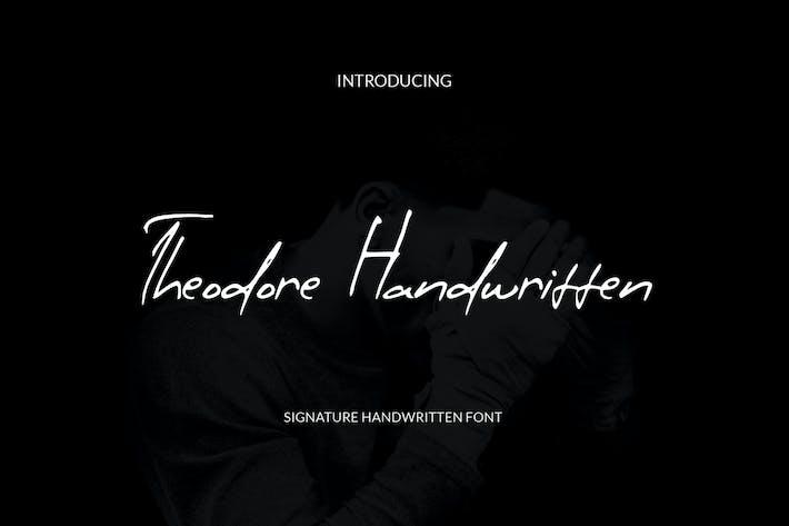 Theodore Handwritten
