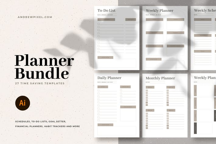 Thumbnail for Planners and Lists Bundle
