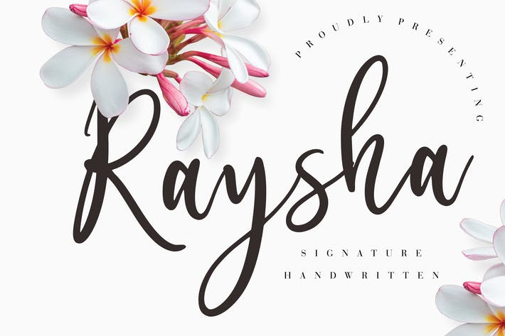 Thumbnail for Raysha Signature Handwritten