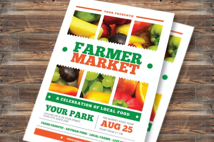 Thumbnail for Farmer Market Flyer Vol 02