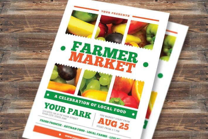 Thumbnail for Farmer Market Flyer Vol 02