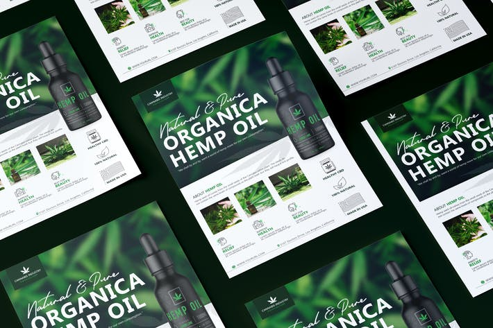 Thumbnail for Hemp Product Flyer Template