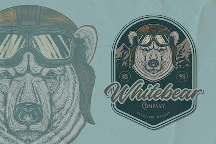 Polar Bear Emblem V1