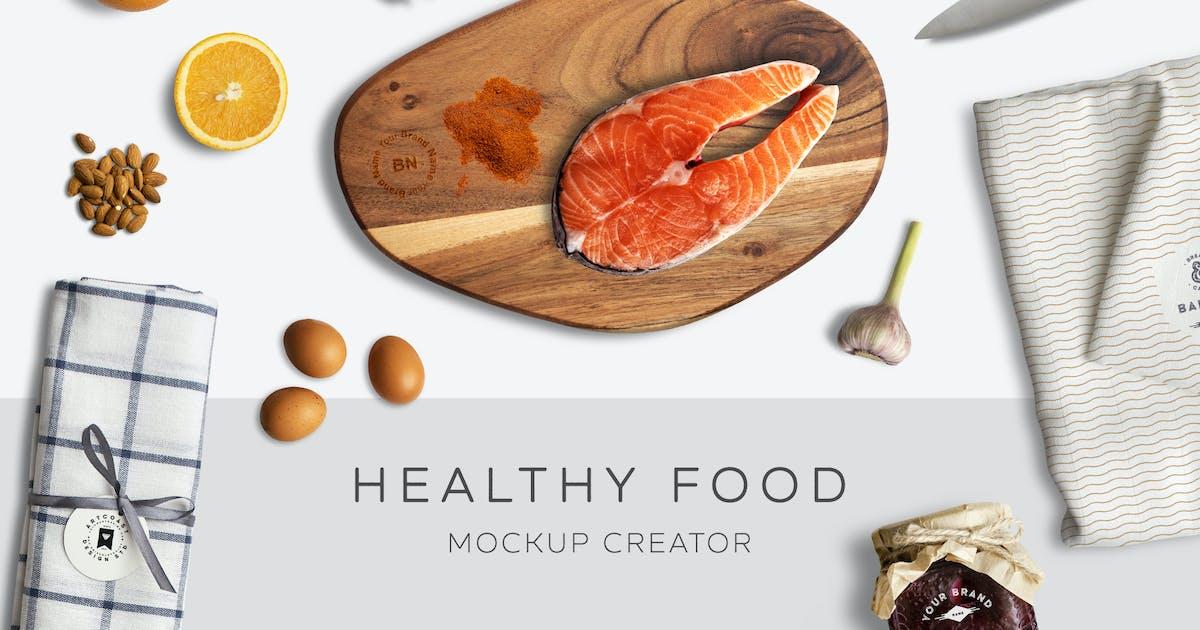 Download Healthy Food Mockup Creator by mankoff