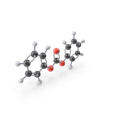 Молекула дифенилкарбоната