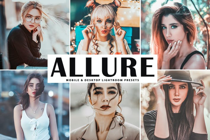 Thumbnail for Allure Mobile & Desktop Lightroom Presets