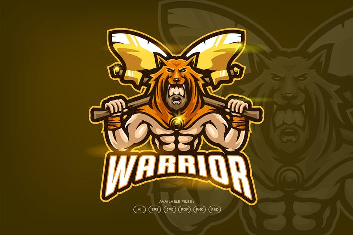 Thumbnail for Warrior - Esport Logo