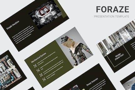 Foraze - Mechanical Engine Education Keynote