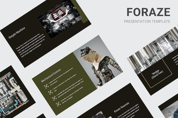 Foraze - Keynote по образованию механических двигателей
