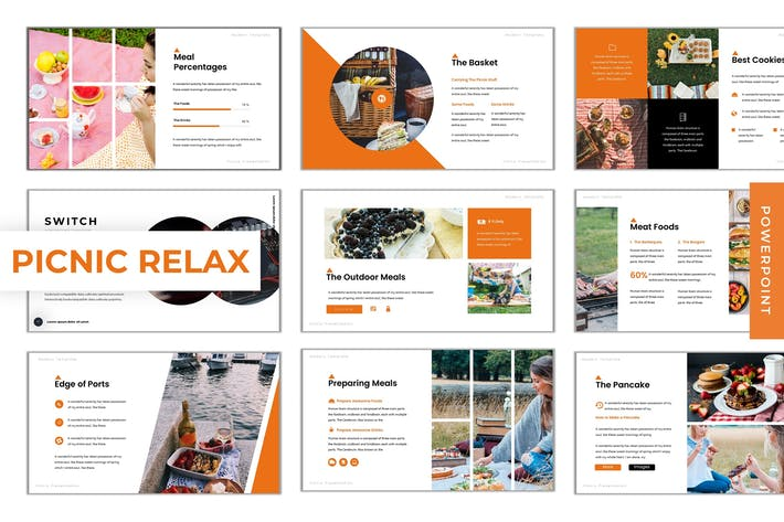 Picnic Relax - Powerpoint Template