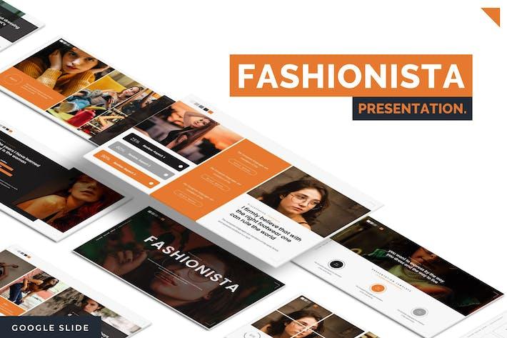 Thumbnail for Fashionista - Google Slide Template