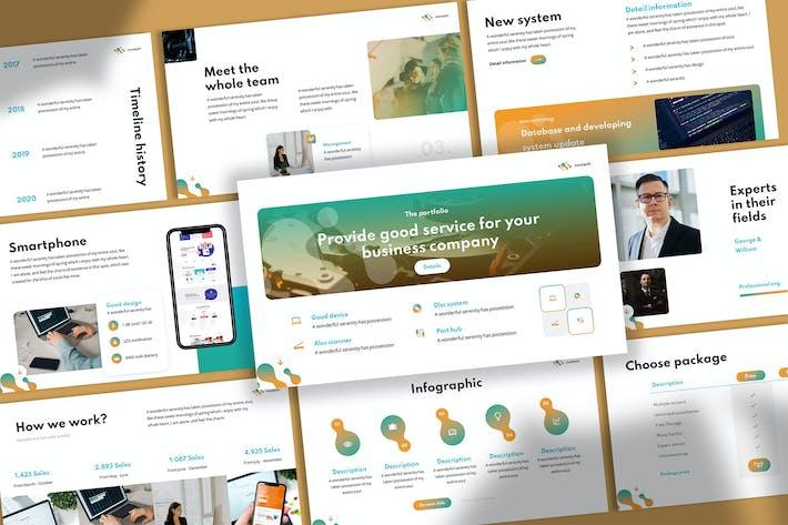 Neotech - Technology Keynote Template