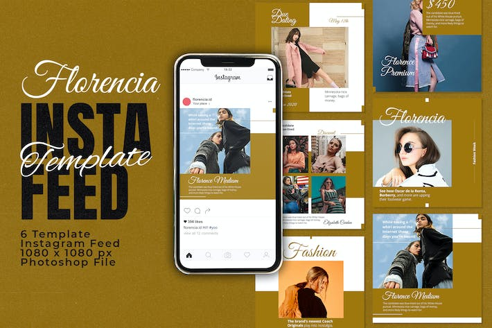 Florencia Instagram Feed Template