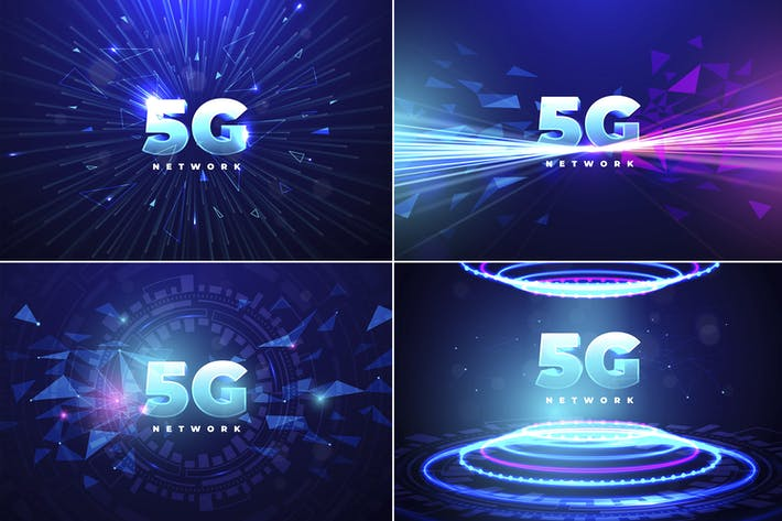 Thumbnail for 5G Technology Backgrounds