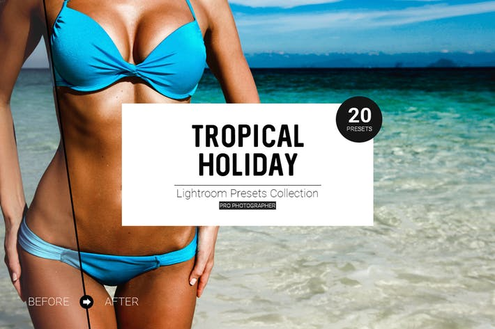 Thumbnail for Tropical Holiday Lightroom Presets