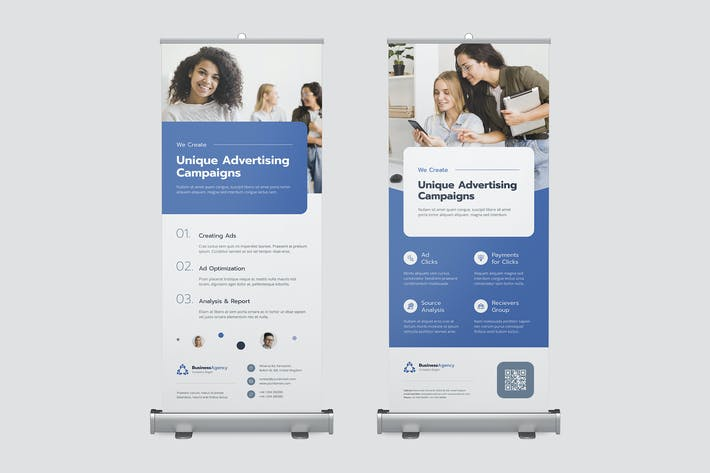 Thumbnail for Roll Up Banner – Business Agency
