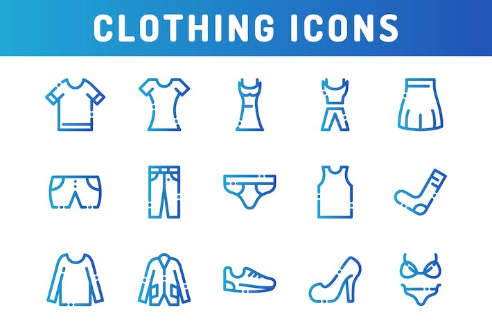 Thumbnail for Clothing Icons