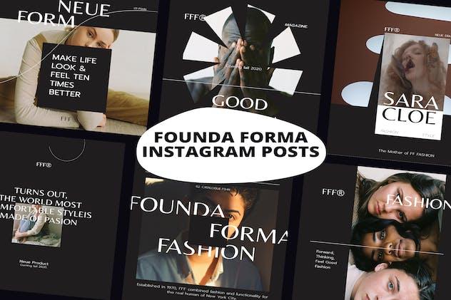 Founda Forma Instagram Posts