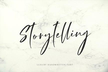 Storytelling - Luxury Calligraphy