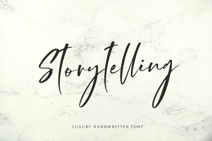 Thumbnail for Storytelling - Luxury Calligraphy
