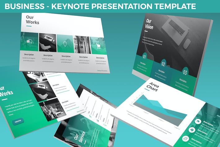 Thumbnail for Business - Keynote Presentation Template