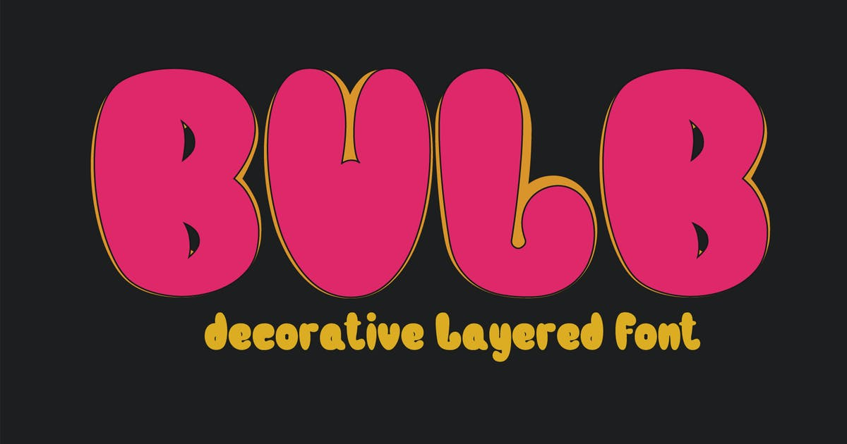 Download Bulb by LetterStockStd