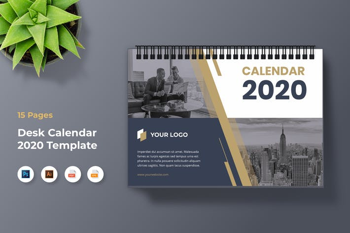 Thumbnail for Корпоративный календарь 2020