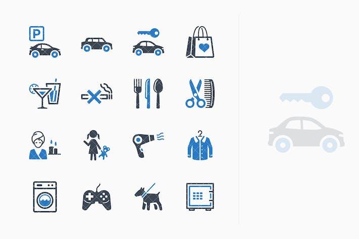 Thumbnail for Tourism & Travel Icons Set 3 - Blue Series
